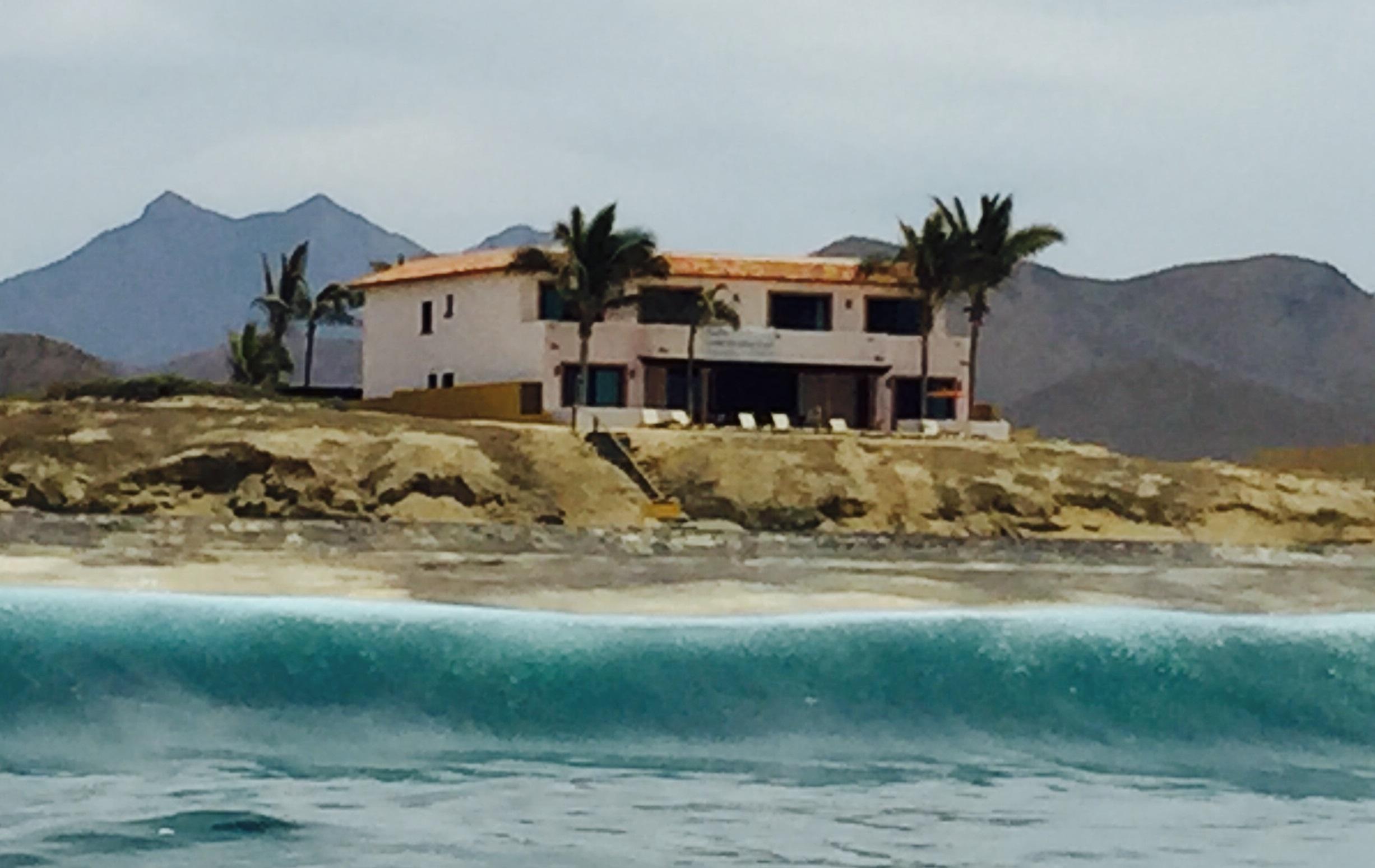 Cerritos Beach Inn From The Water
