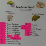 Loncheria Karla Menu