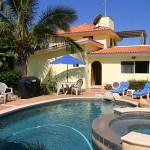 Pescadero Palace pool and Jacuzzi!