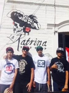 Outside La Katrina.