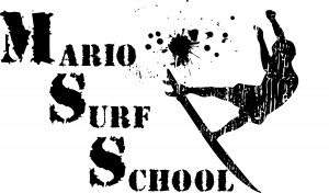 logo mario surf school